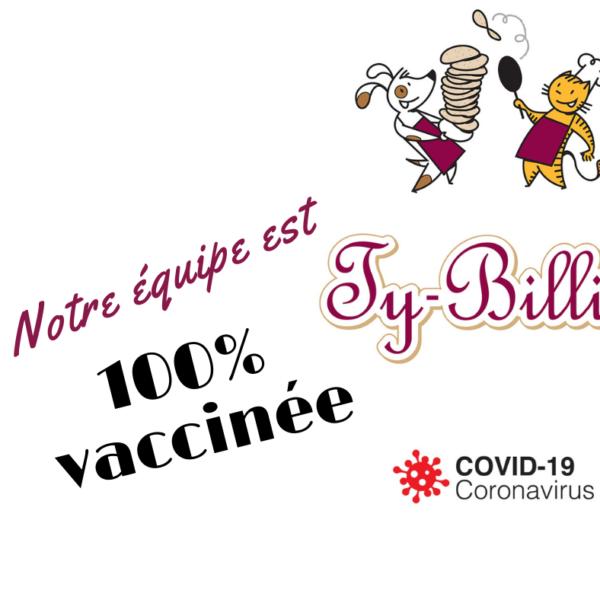 100% vaccinés !